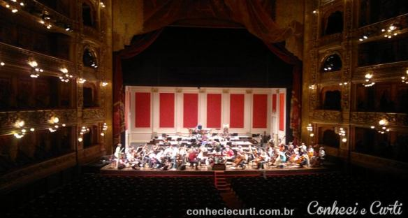 Salão Principal do Teatro Colón em Buenos Aires.