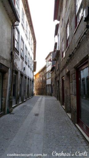 Rua da Torre em Guarda Portugal.