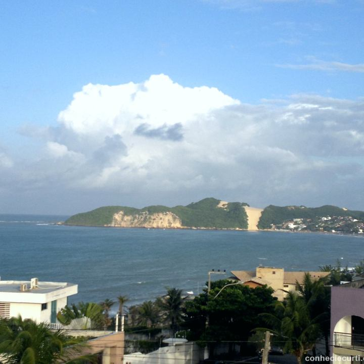 Morro do Careca em Natal, Rio Grande do Norte.