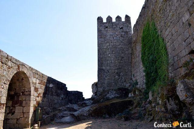Torre de Menage no Castelo de Trancoso. Foto: Maria Eugênia