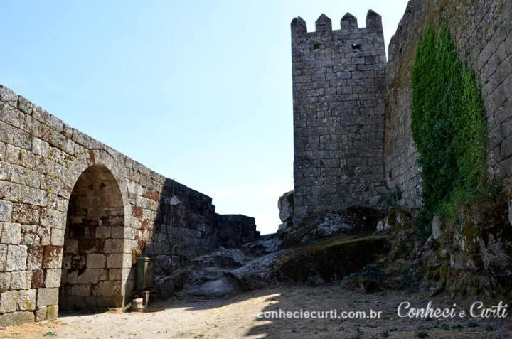 Torre de Menage no castelo de Trancoso.
