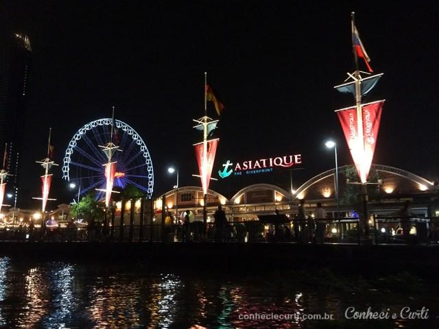Pier do Asiatique em Bangkok