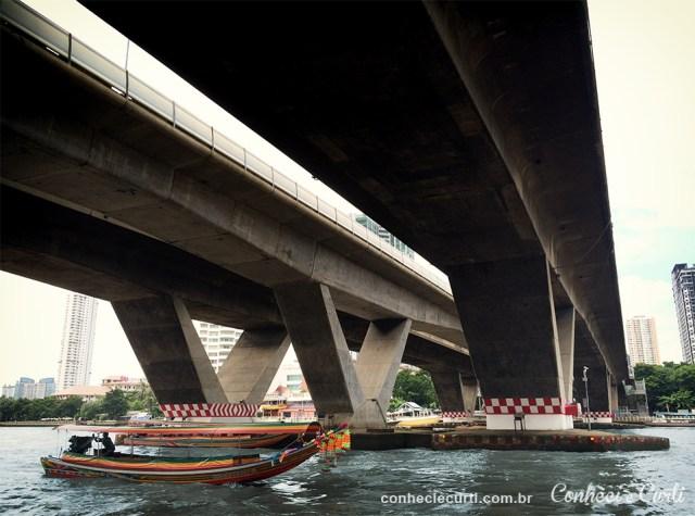 Ponte sobre o rio Chao Phraya