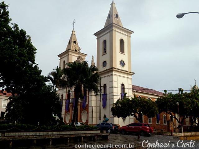 A Igreja Matriz de Baependi.