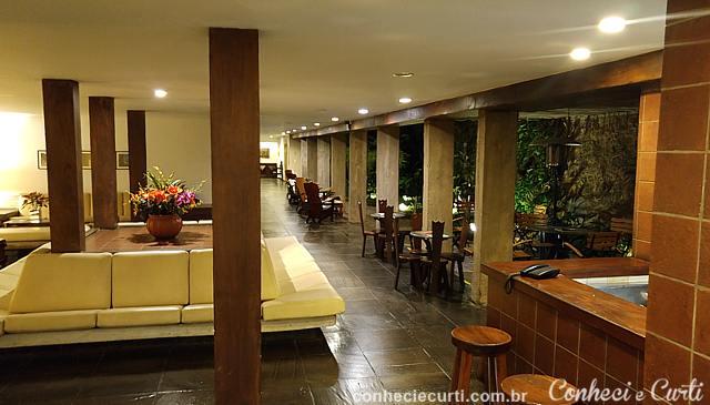 Hotel União em Caxambu. Saguão do hotel.