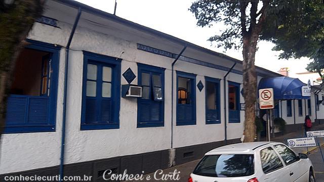 Hotel Caxambu, o mais antigo da cidade.