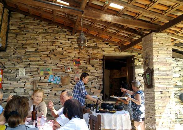 Restaurante O Alquimista em São Tomé das Letras, MG.