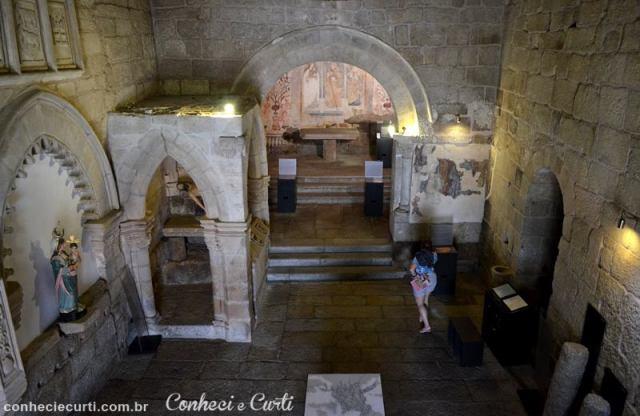 Igreja de Santiago em Belmonte, Portugal. Aldeias Históricas