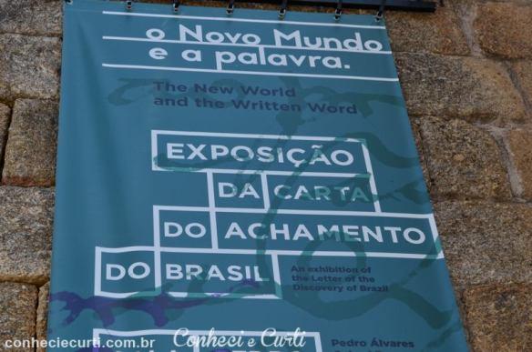 Exposição da Carta do Achamento do Brasil.