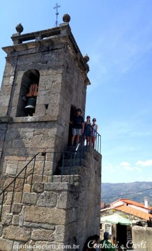 A torre sineira. Belmonte Portugal