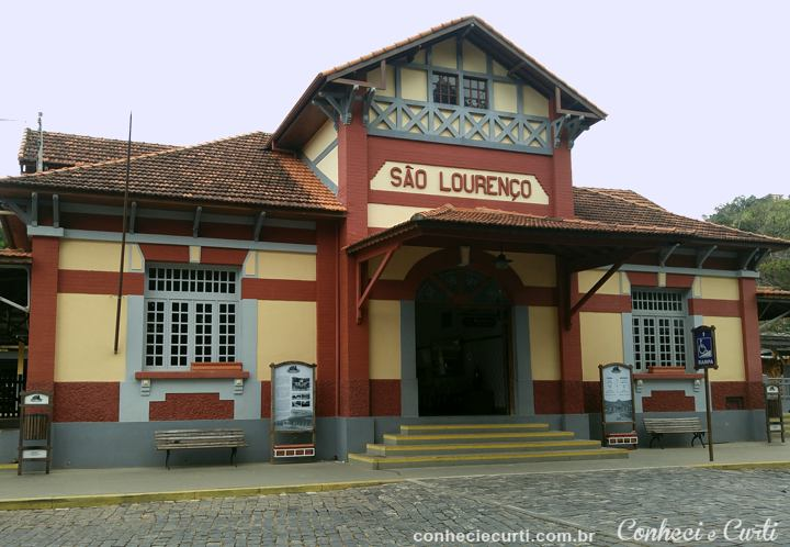 Estação Ferroviária de São Lourenço, MG.