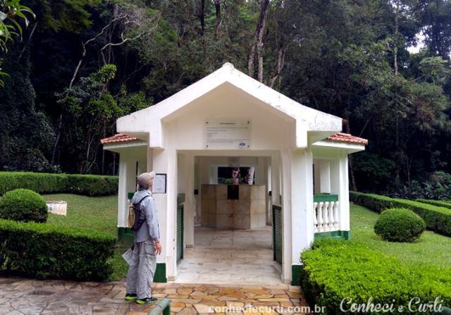 Parque das Águas de São Lourenço - Fonte Ferruginosa.