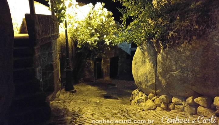 A aldeia histórica de Monsanto, Portugal.