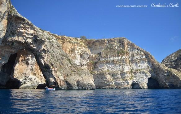 Passeio Blue Grotto Panorâmica