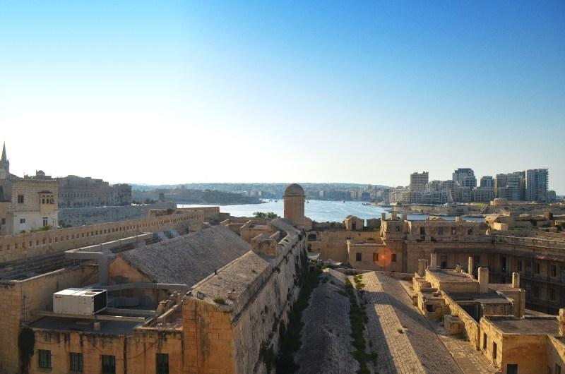 Vista panorâmica de Valletta, Malta