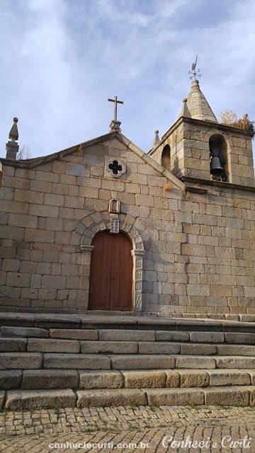 A Igreja Matriz de Idanha-a-Velha, Portugal
