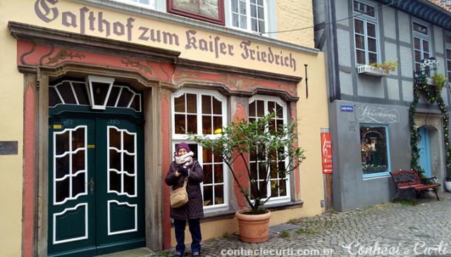 O Schnoor Viertel em Bremen, Alemanha.