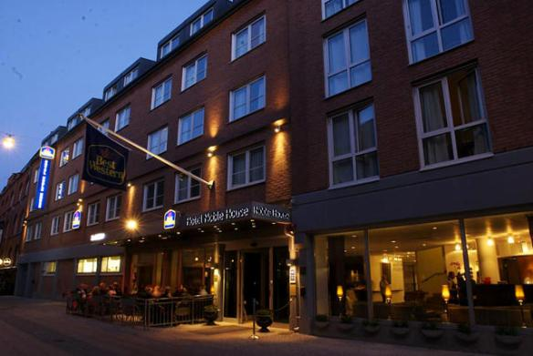 Hotel Best Western em Malmö. Suécia.