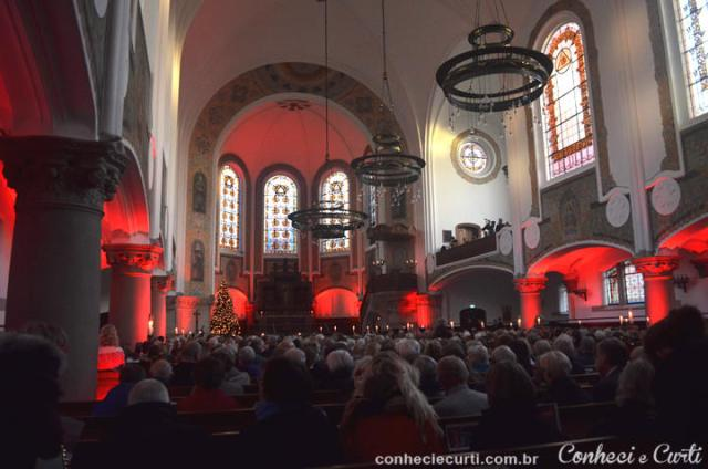Interior da Igreja de São João, Malmö, Suécia