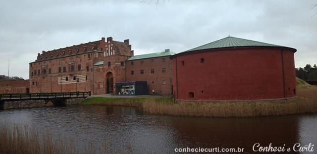 O castelo de Malmö, Suécia.