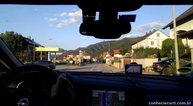 Uma pequena cidade da Áustria.