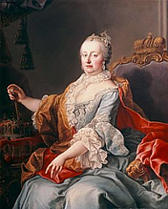 Maria Teresa da Áustria.