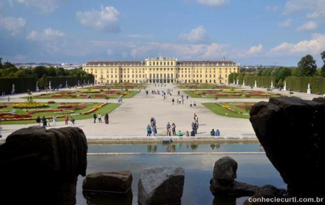 Palácio de Schönbrunn, Viena.