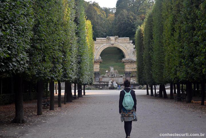 As Ruínas Romanas do Schönbrunn.