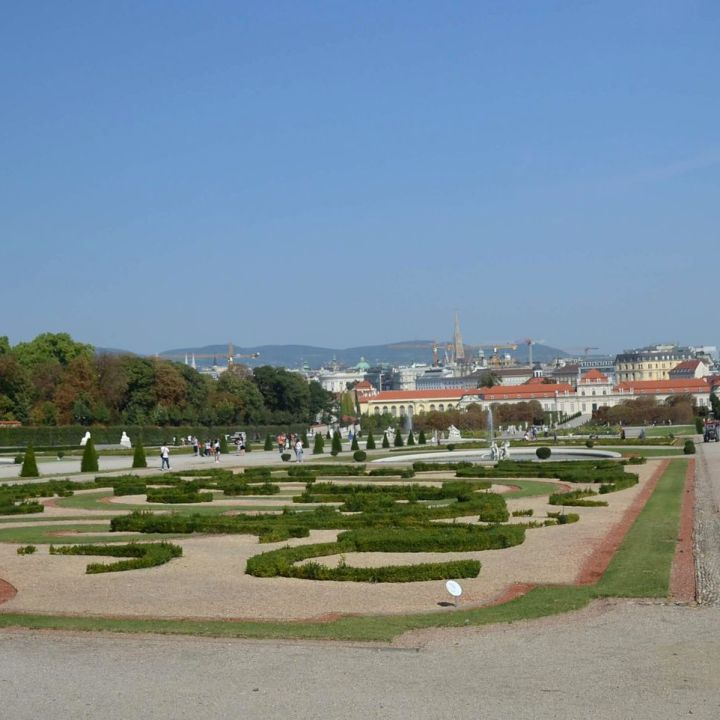 Os jardins de Belvedere
