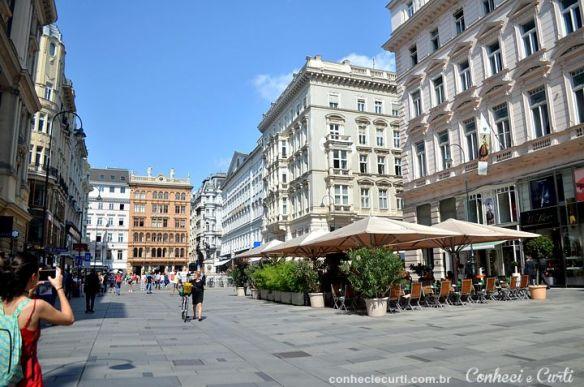 A cidade de Viena, Áustria.