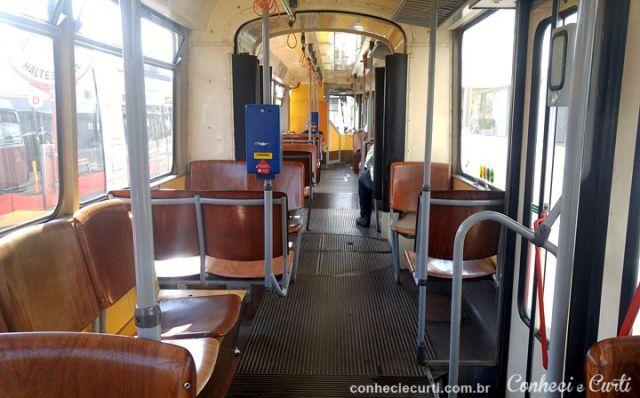 Viena, o Tram da linha D