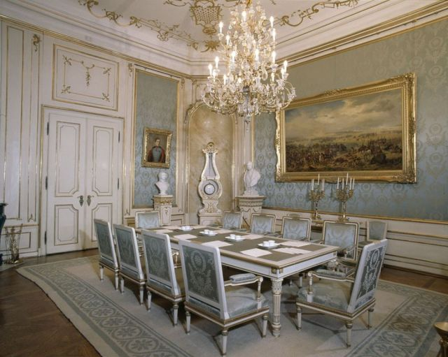". Fonte: Palácio Hofburg. Photo: Johannes Wagner"""