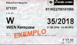 Viena Ticket - imagem.