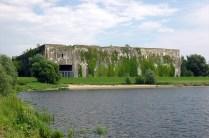 As ruínas hoje em dia. Foto: Denkort Bunker Valentin