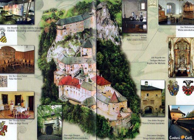 Castelo de Orava, Eslováquia.