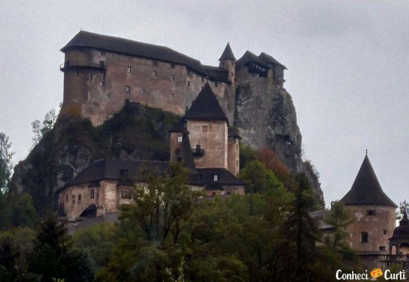 Castelo de Orava,Eslováquia.