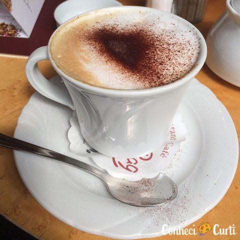 Cappuccino em Schwerin