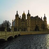 Castelo de Schwerin no inverno