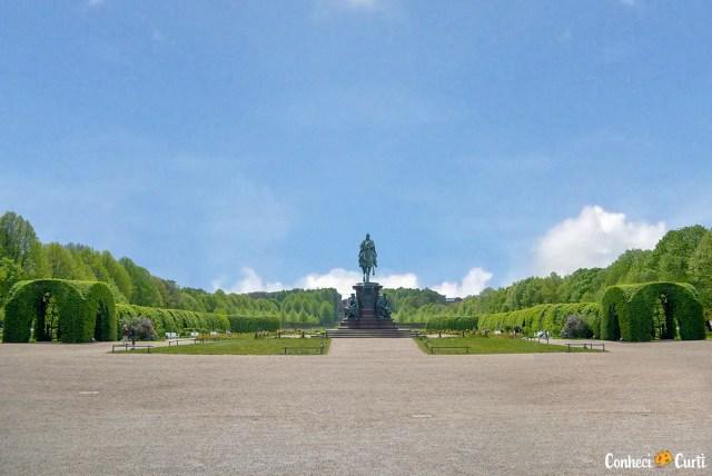 Jardim do castelo de Schwerin
