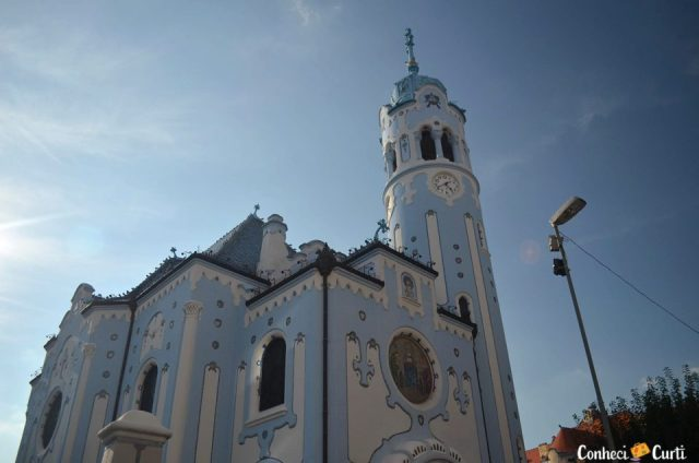 Igreja azul - Bratislava