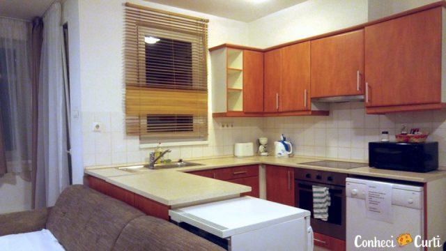 Nosso apartmento em Budapeste