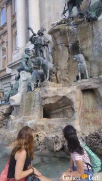 Fonte de Matthias no Castelo de Buda