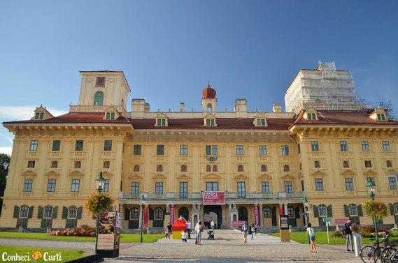 Visitando o Palácio Esterházy na Áustria