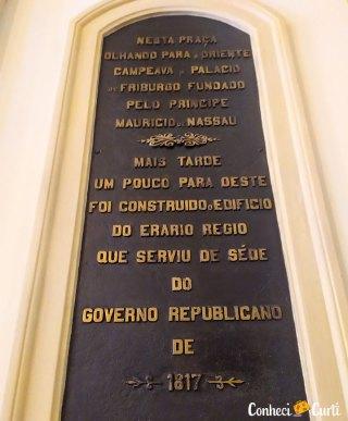 Palácio das Princesas em Recife, Pernambuco.