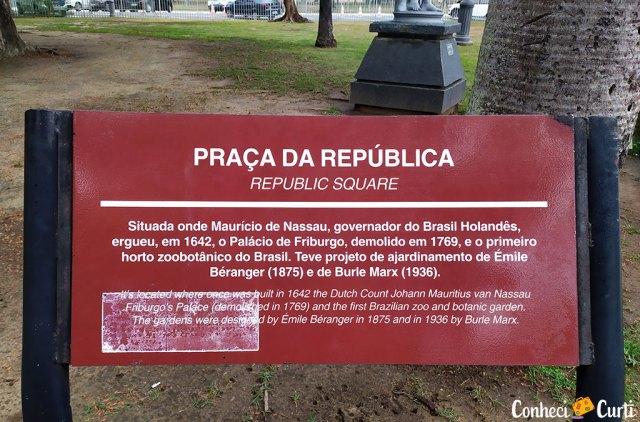Praça da República, Recife.