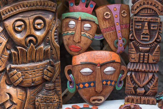 Máscaras indígenas