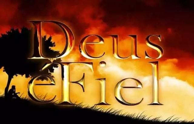Deus é Fiel Sempre Fiel Mensagem De Fé E Confiança Em Deus
