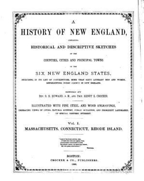 a-history-of-new-england-containing-historical-and-descriptive-sketches-of-edited-by-r-h-howard-henry-e-crocker-vol-i-cover-pg