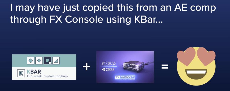 FX Console + KBar | conigs com