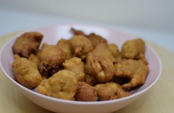 Buñuelos de bacalao sin gluten, sin lácteos, sin arroz y sin maíz